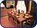 Amberwood Accommodation - Dining Room